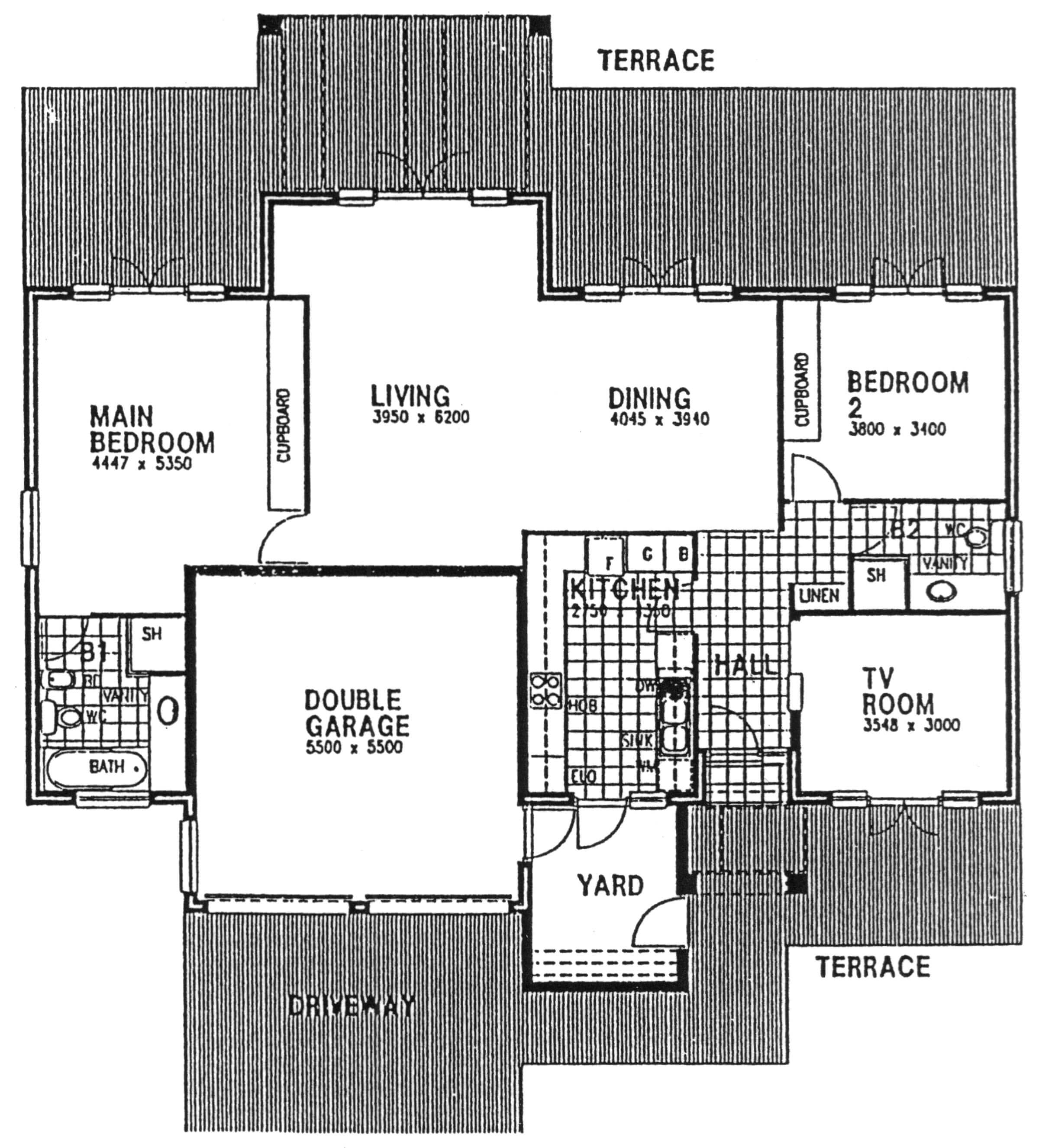 Floor Plan - Berkshire 2 Floor Plan