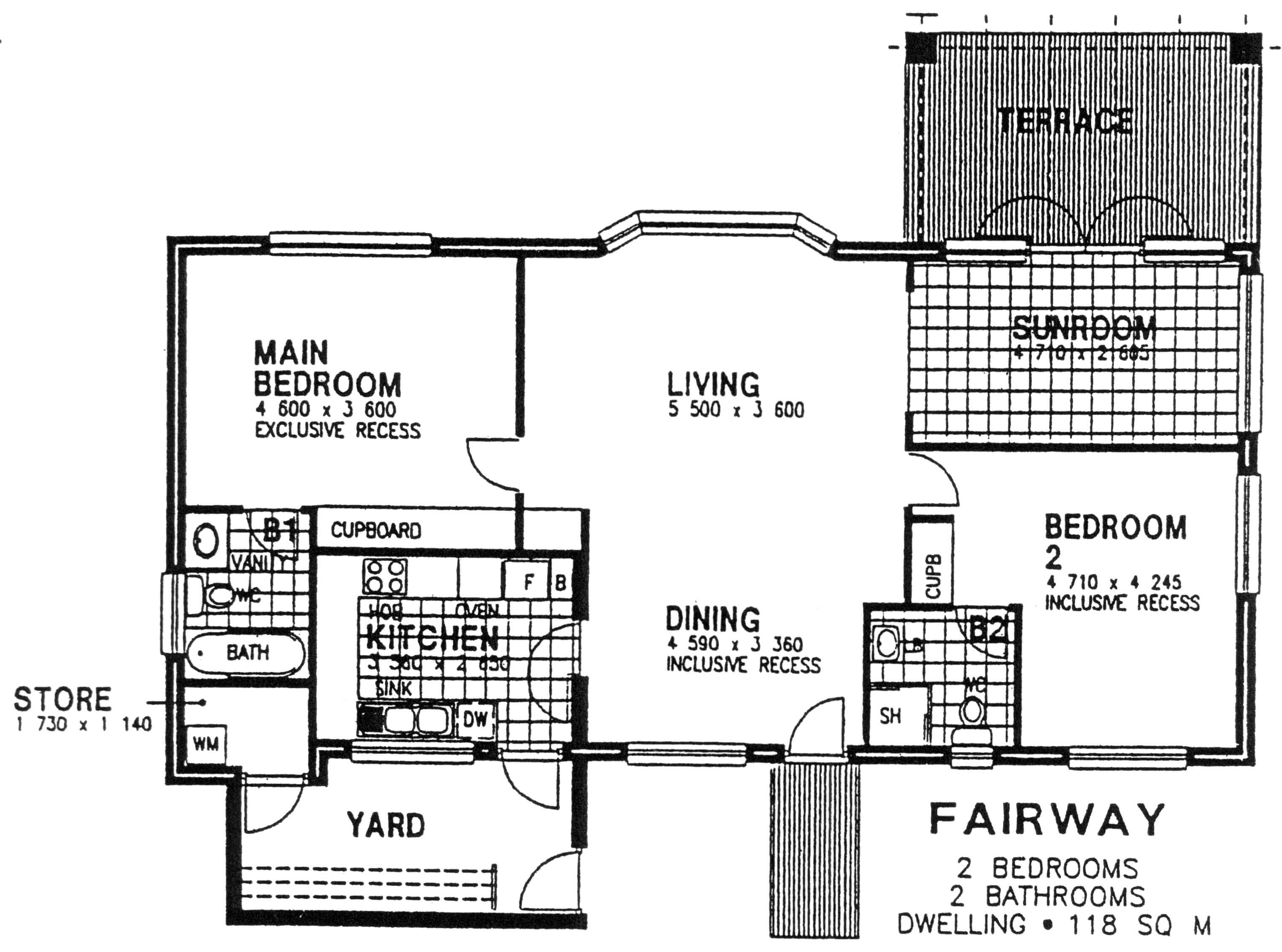 Floor Plan - Fairway Floor Plan