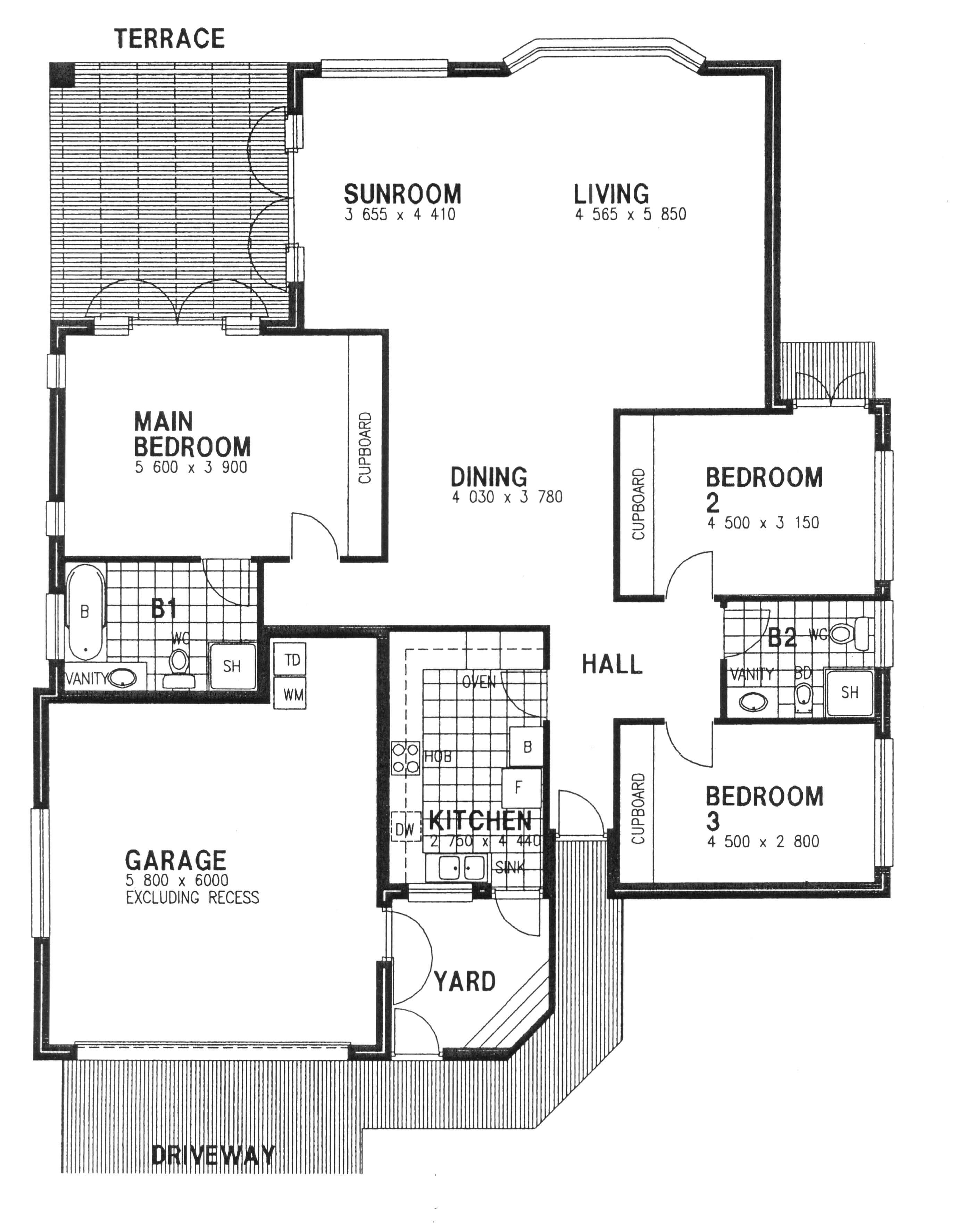 Floor Plan - Oxford Floor Plan