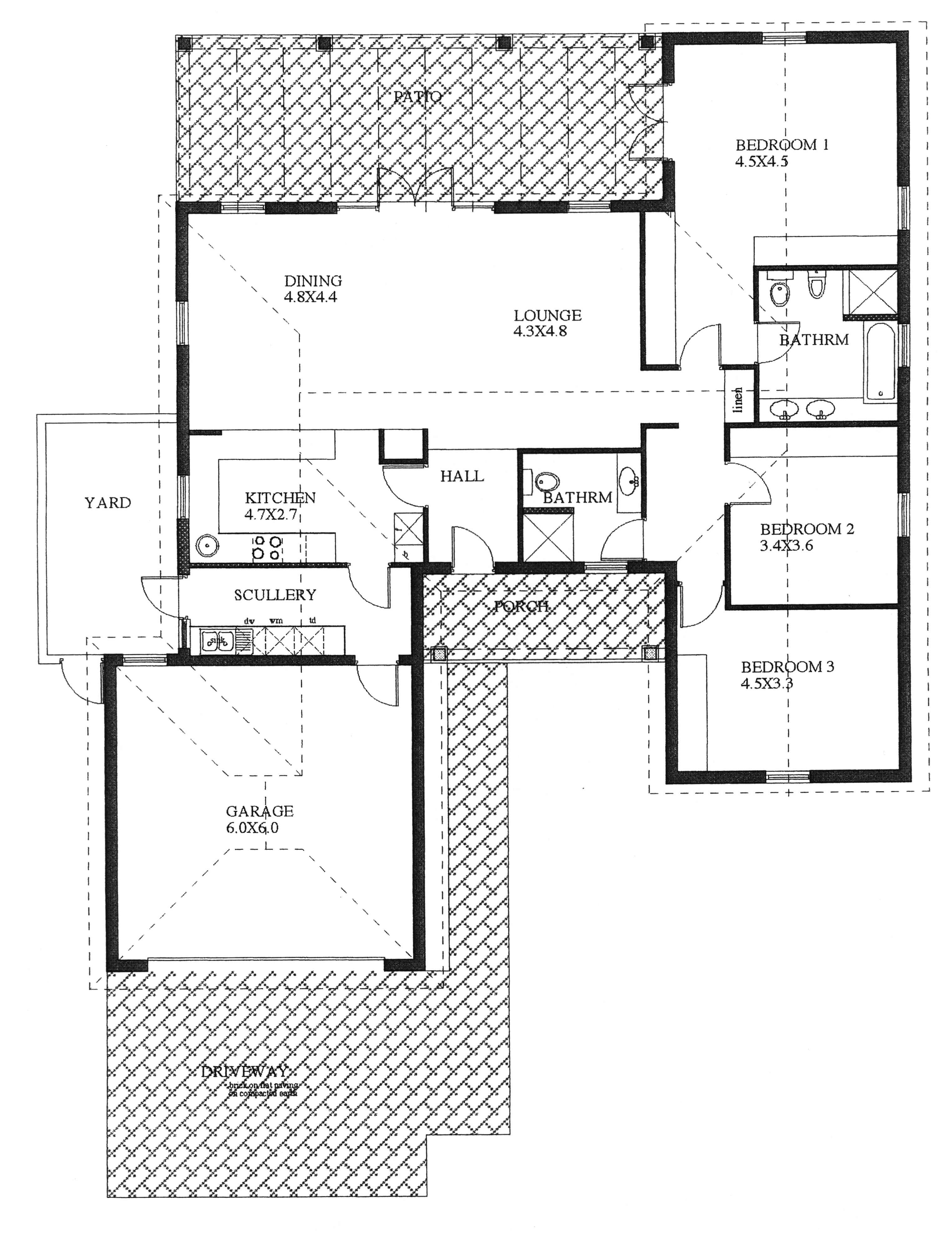 Floor Plan - Tamboti-swallow2  Floor Plan