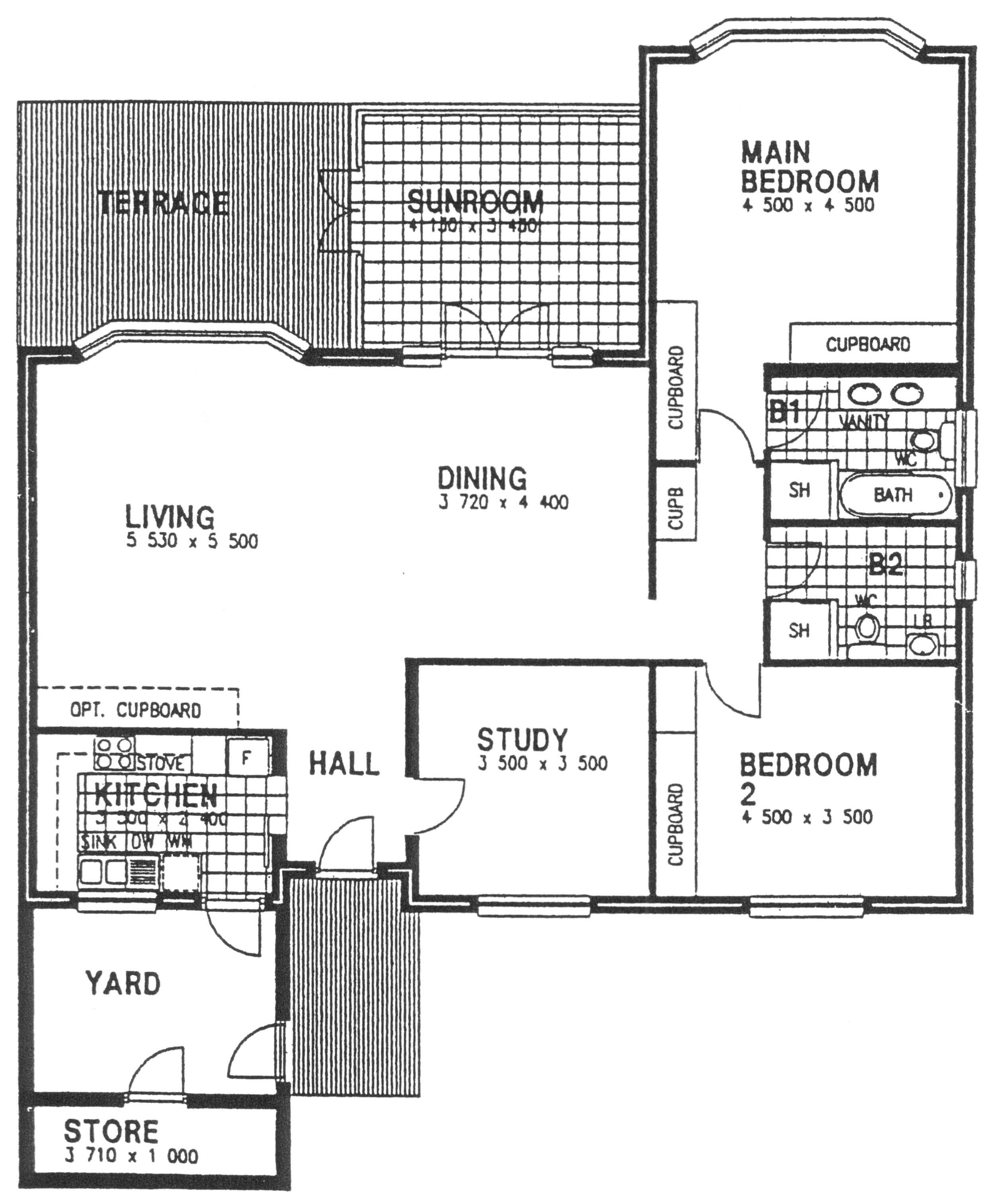 Floor Plan - Tamboti Floor Plan