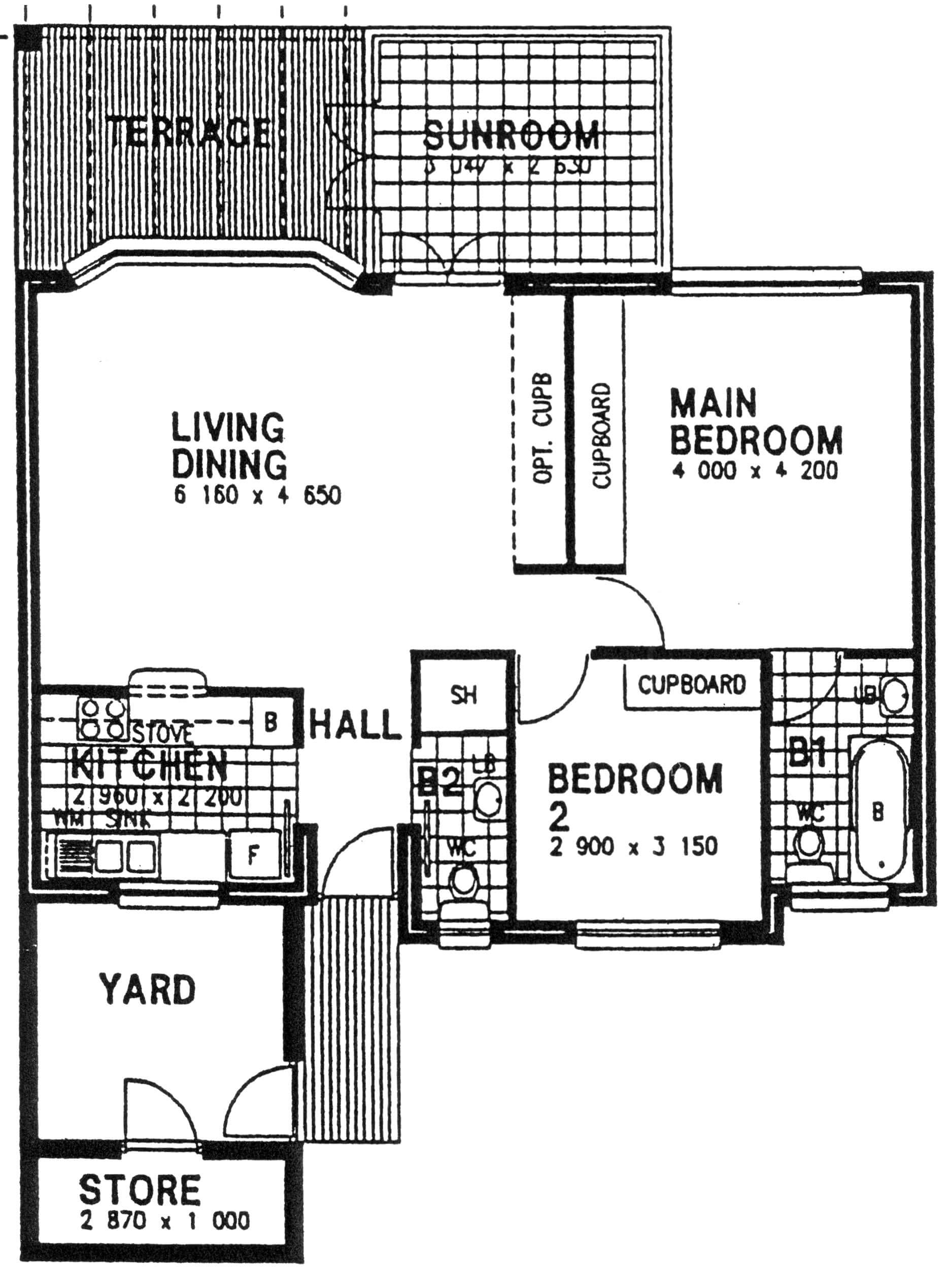 Floor Plan - Elm Floor Plan