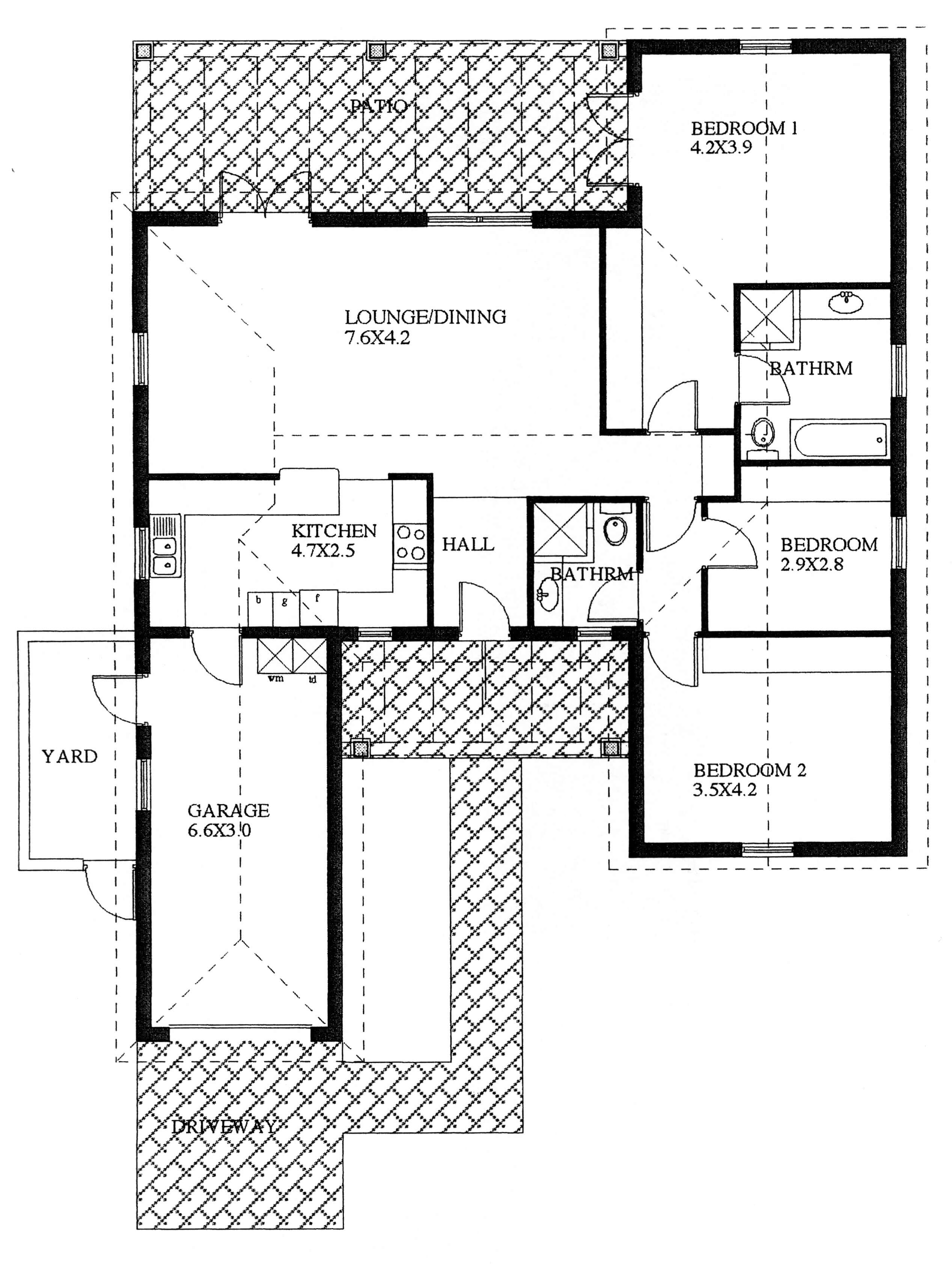 Floor Plan - Sunbird Floor Plan
