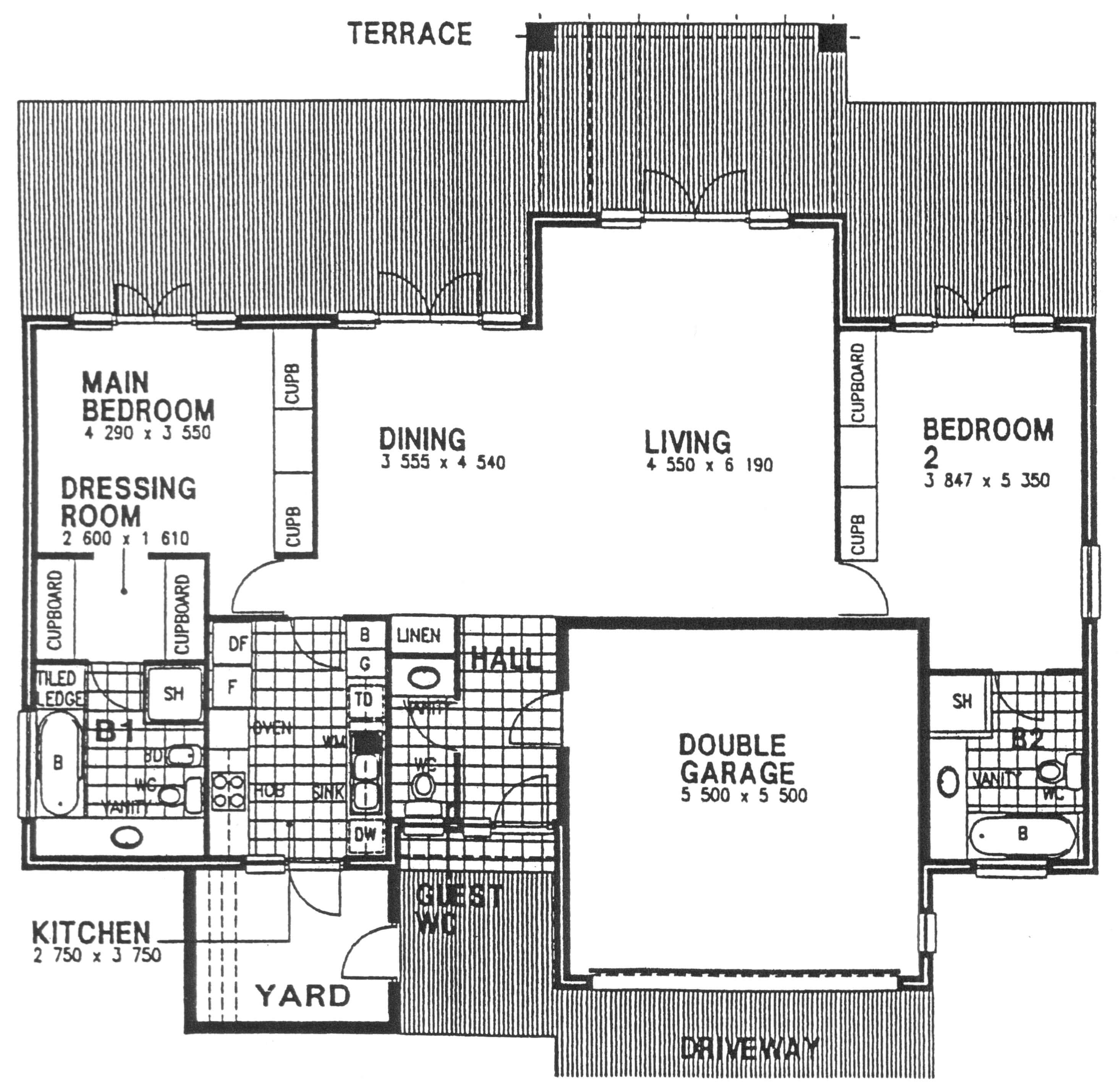 Floor Plan - Westminster 2 Floor Plan