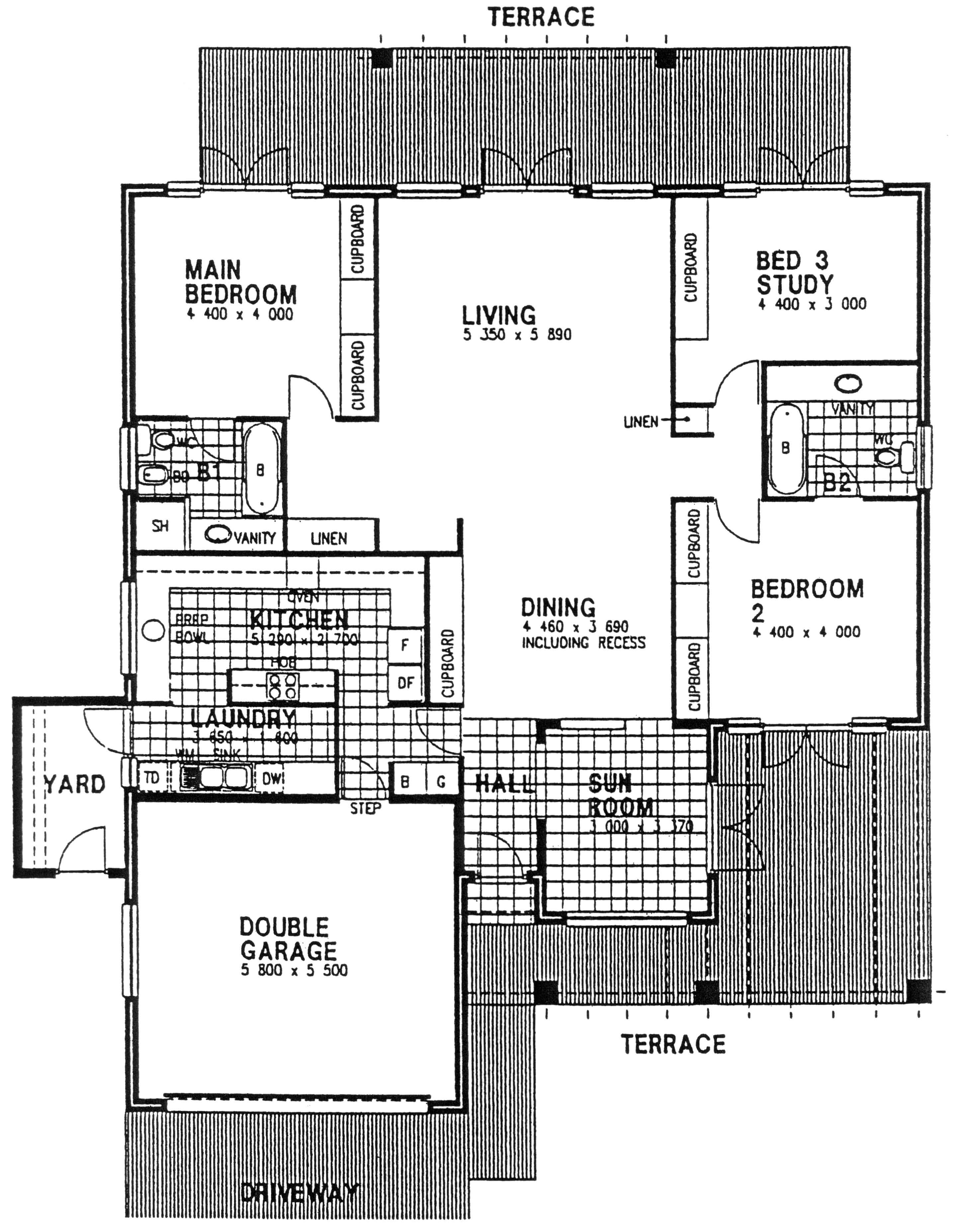 Floor Plan - Hampton Floor Plan