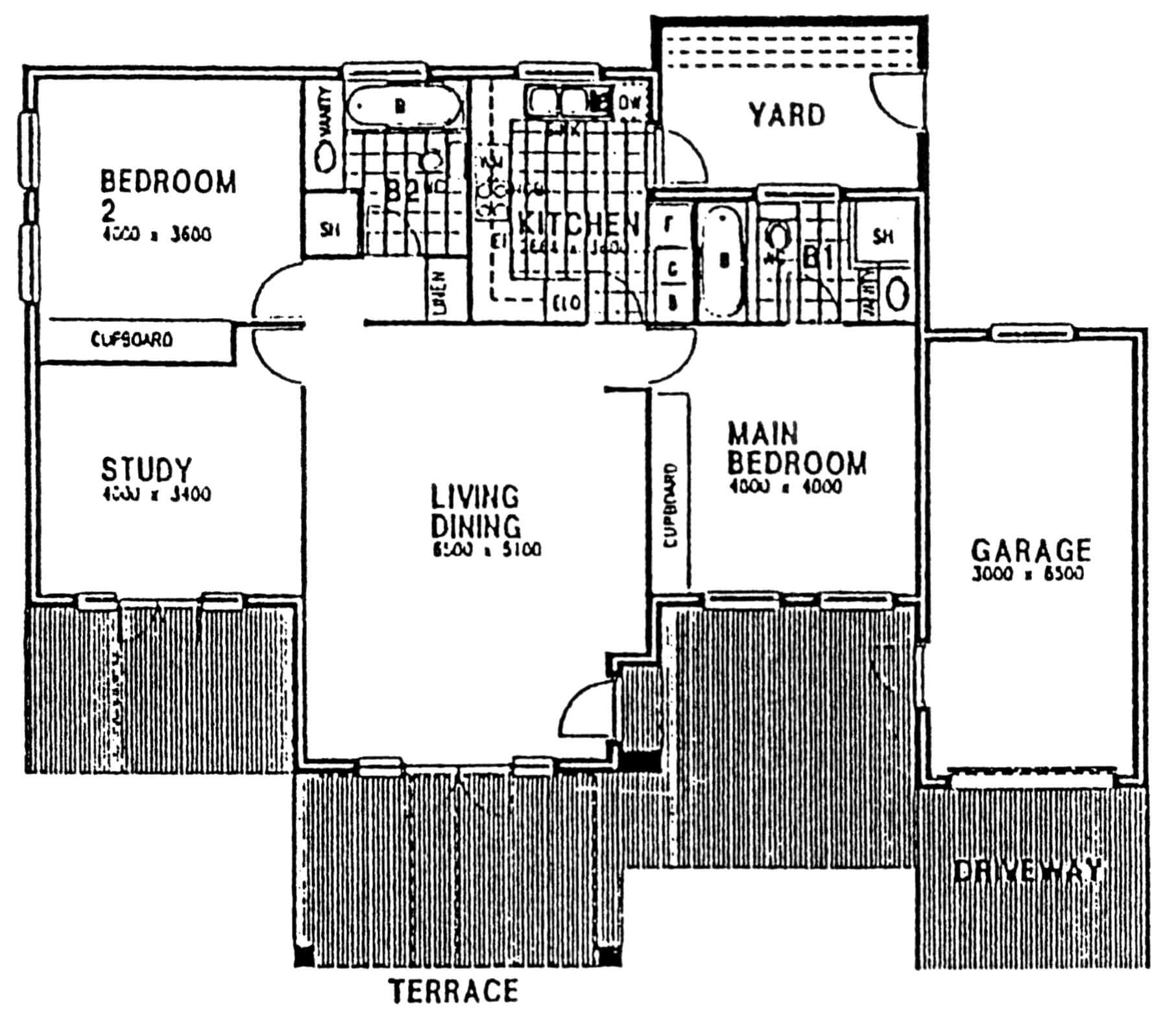 Floor Plan - Dorchester Floor Plan