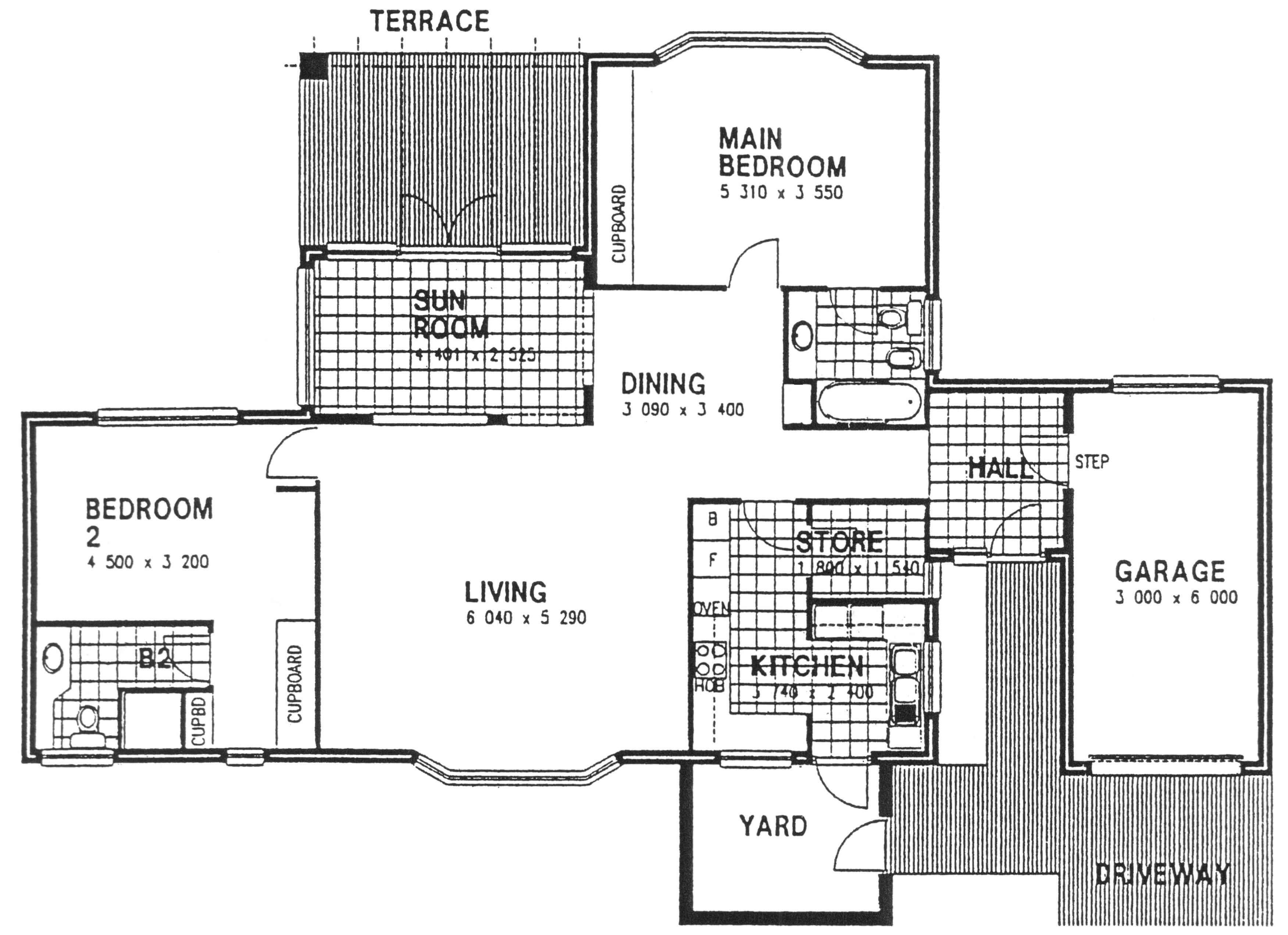 Floor Plan - Windsor2 Floor Plan