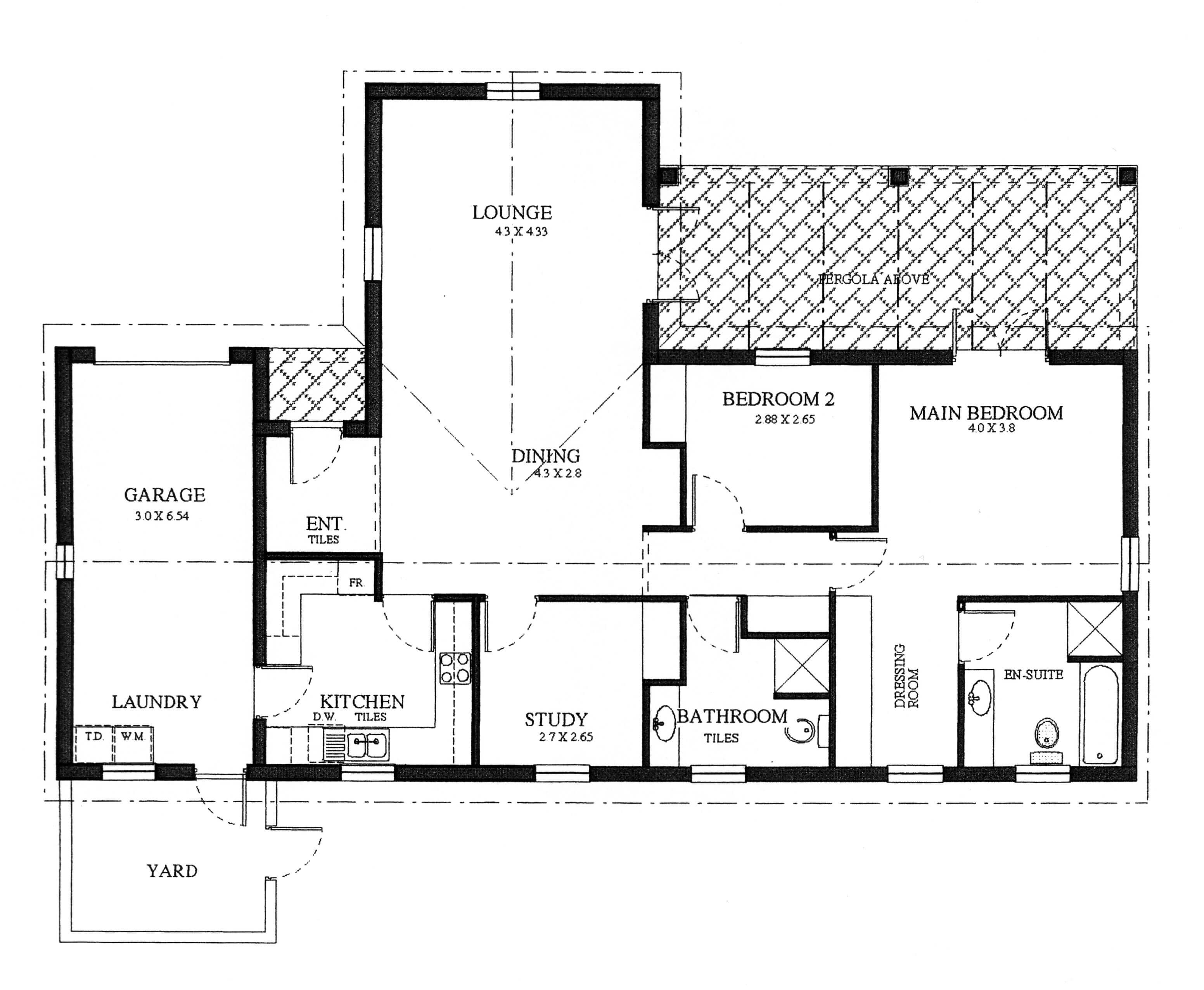 Floor Plan - Robin Floor Plan