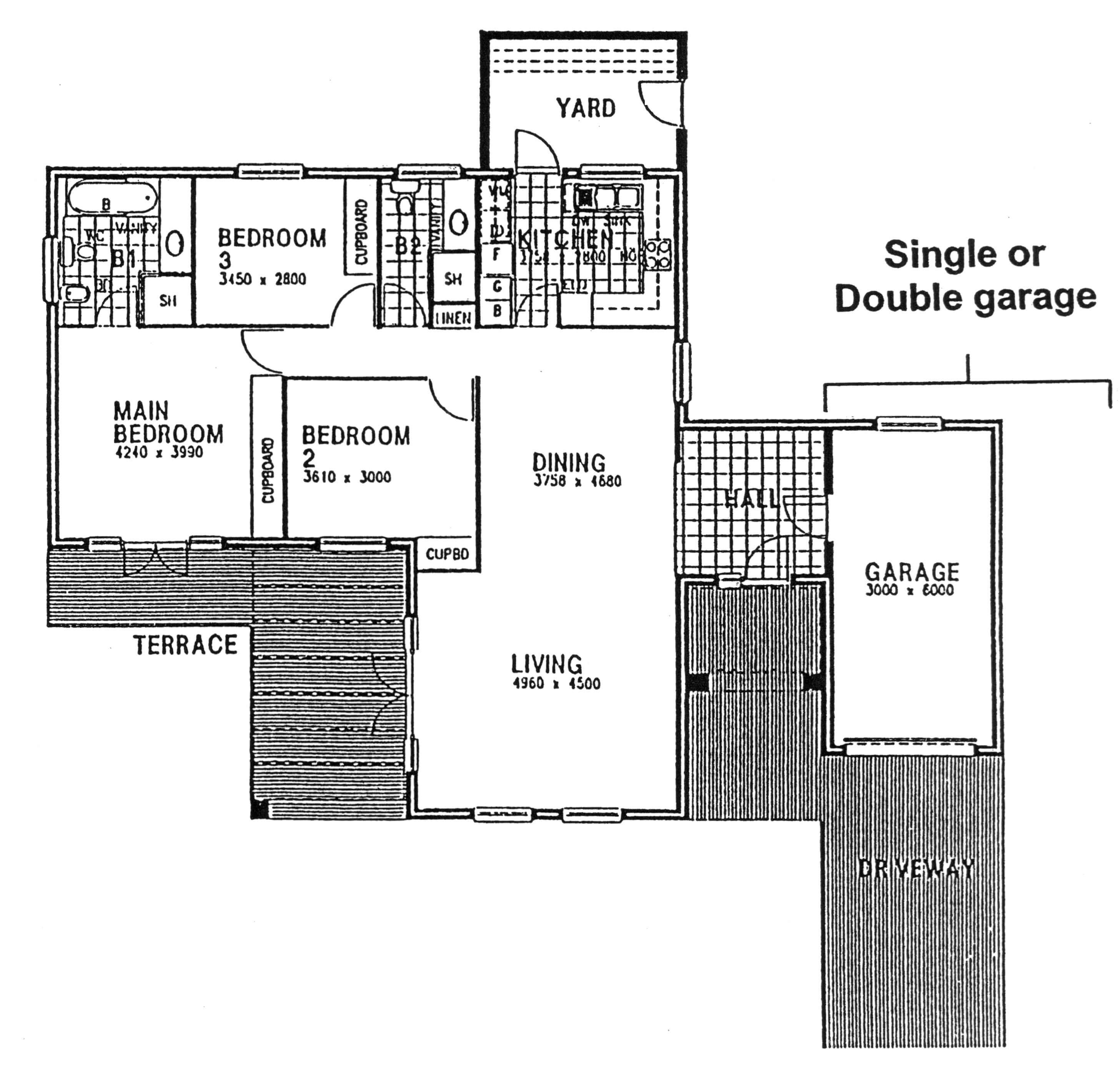 Floor Plan - Nottingham Floor Plan