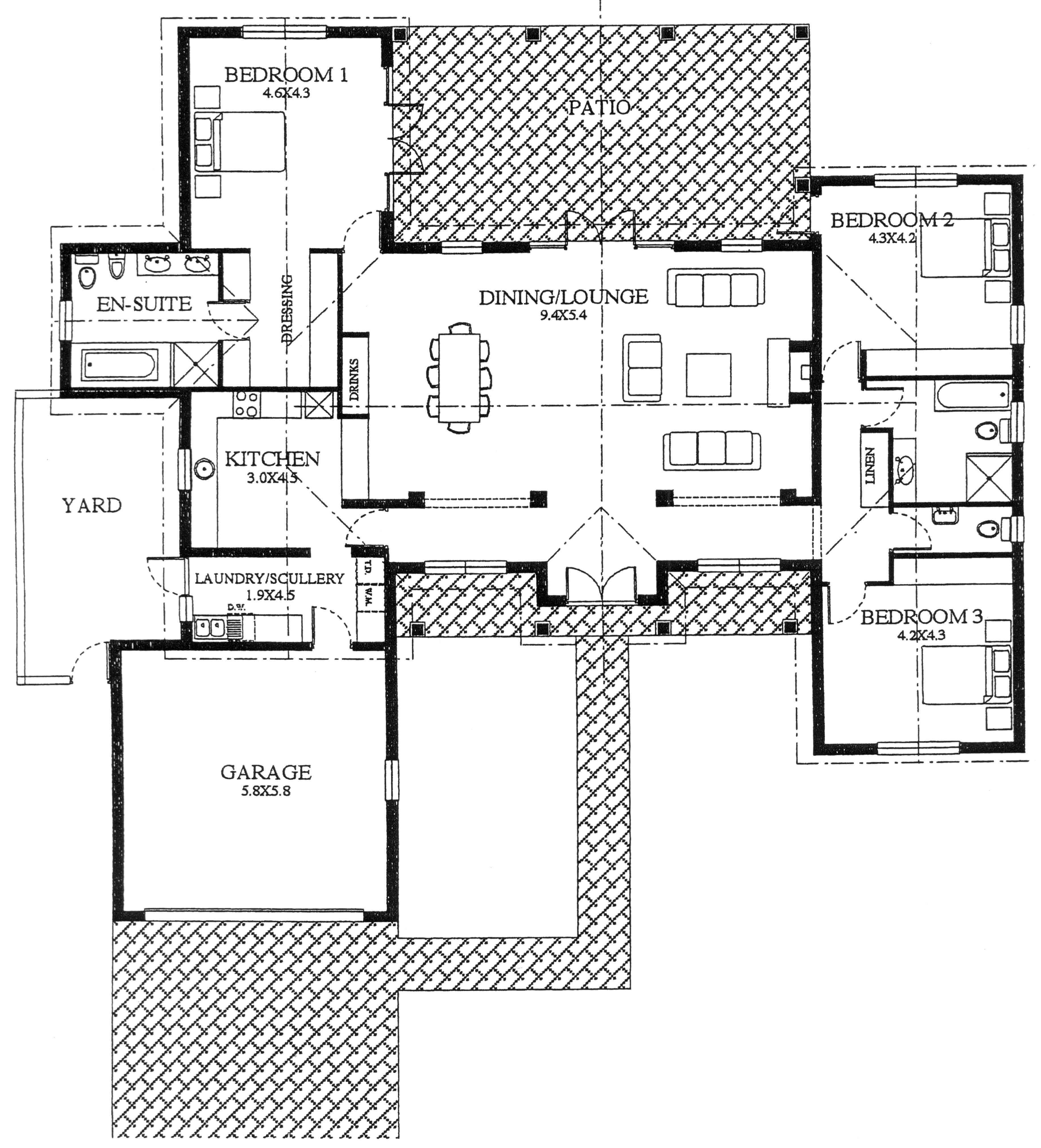 Floor Plan - Eagle Floor Plan
