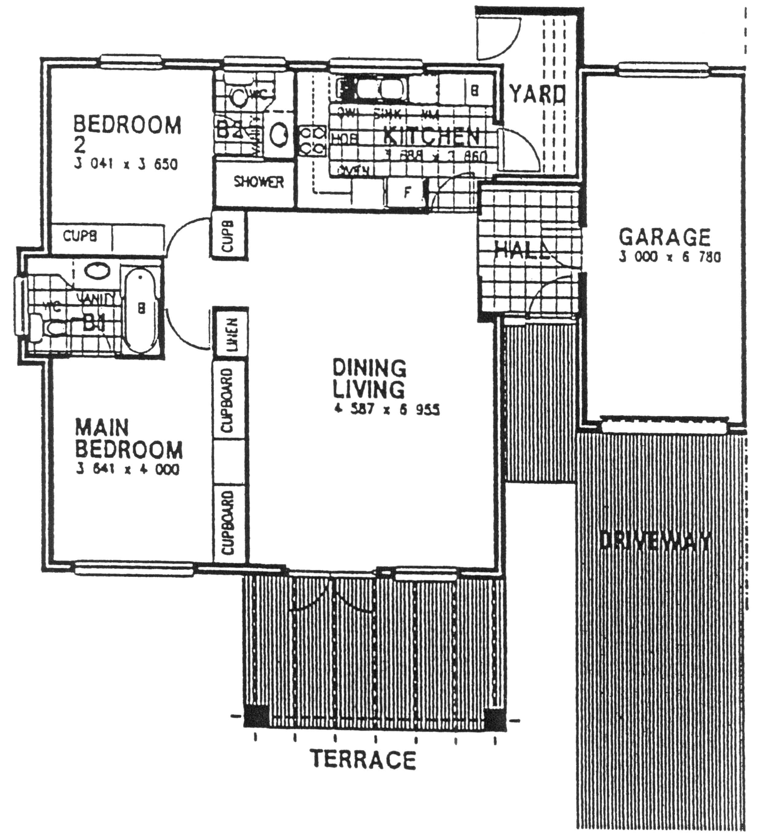 Floor Plan - Newlands Floor Plan