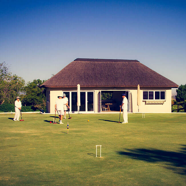 <p>Helderberg Village Croquet club</p> - 0