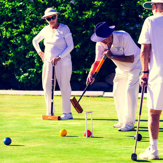 <p>Helderberg Village Croquet club</p> - 2