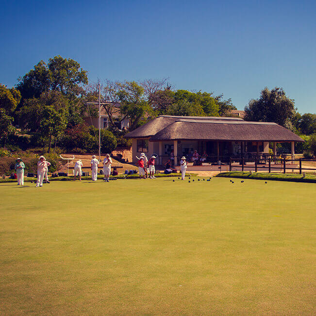 Two Bowling Greens & Pavilion